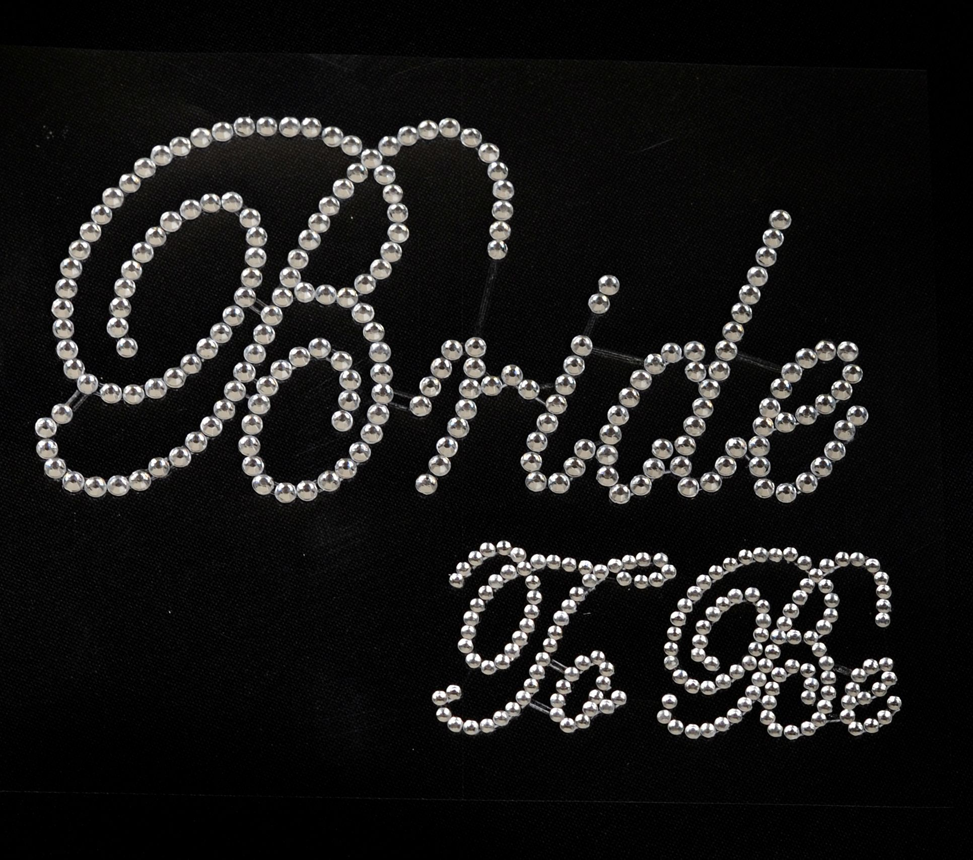 801acf42c7 Rhinestone Bride to Be Laptop Decals Stickers - Clear